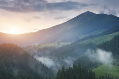 Mountain landscape nature. Royalty Free Stock Photo