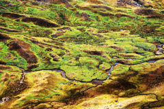 Mountain landscape in Cordiliera Huayhuash Stock Images