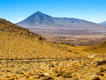 Mountain landscape of Cordillera de Lipez in Stock Image