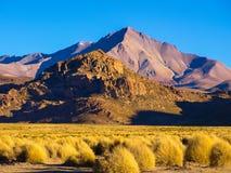 Mountain landscape of Cordillera de Lipez in Stock Photography