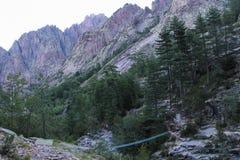 Mountain landscape, Corse, France. Stock Photos