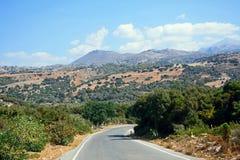 Mountain landscape, Crete. Stock Photos