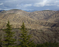 Mountain landscape, Crimea. Mountain landscape in winter, Crimea, Ukraine Stock Image