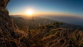 Mountain landscape Crimea Stock Photos