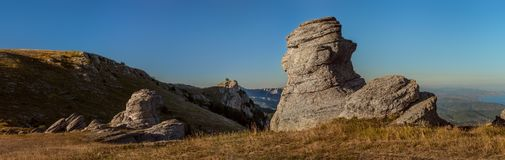 Mountain landscape Crimea Royalty Free Stock Images
