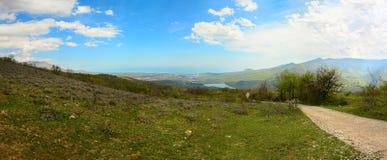 Mountain landscape Crimea stock images