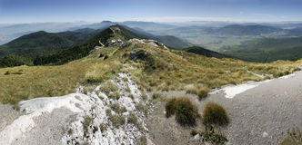 Mountain landscape Croatia Royalty Free Stock Images