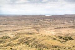 Mountain landscape at David Gareja Stock Images