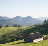 Mountain landscape in the day time. Beautiful natural landscape Stock Image