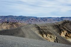 Mountain landscape of Death Valley, USA royalty free stock photo