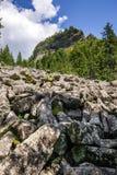 Mountain landscape with Detunatele Stock Photography