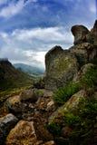 Mountain landscape from Dobrogea, Romania Royalty Free Stock Photography