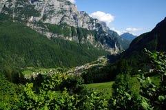 Mountain landscape, Dolomites Stock Photos