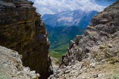 Mountain landscape of Dolomites, Italy Stock Photo