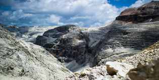 Mountain landscape of Dolomites, Italy Royalty Free Stock Photos