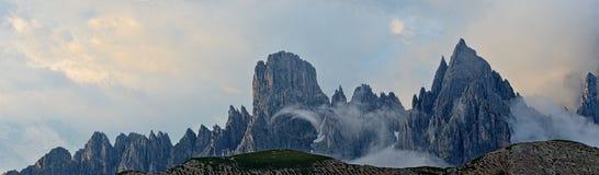 Mountain landscape - Dolomites, Italy Stock Images