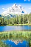 Mountain landscape of Dolomiti Region, Italy. Royalty Free Stock Photos