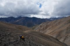 Mountain Landscape in Dolpo area, Western Nepal Royalty Free Stock Images