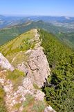 Mountain landscape in the Dr�me in France Royalty Free Stock Image