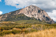 Mountain Landscape in Early Fall Royalty Free Stock Images