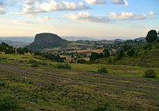 Mountain landscape. Elevation above three thousand meters. Afric. A, Ethiopia Royalty Free Stock Photography