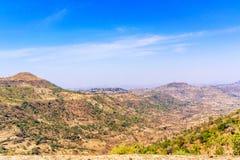 Mountain landscape in Ethiopia. Stock Photo