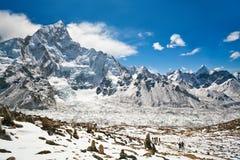 Mountain landscape in Everest Region, Nepal Royalty Free Stock Image
