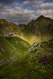 Mountain landscape in Fagaras Mountain - Carpathians Royalty Free Stock Photos