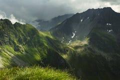 Mountain landscape in Fagaras Mountain - Carpathians Royalty Free Stock Images