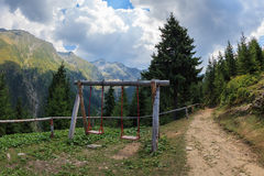 Mountain landscape. Fagaras Mountains, Romania Royalty Free Stock Photo