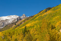 Mountain Landscape in Fall Royalty Free Stock Images