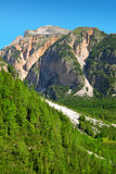 Mountain landscape in Fanes Nature Park Royalty Free Stock Photography