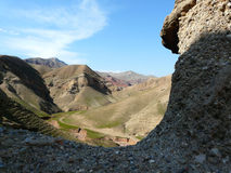 Mountain landscape. The foothills of the Hissar mountains of Tajikistan Stock Photos