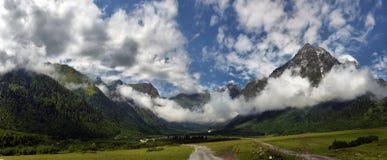 Mountain landscape in Georgia Stock Photo