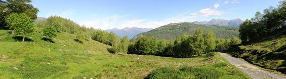 Mountain landscape at Gola di Lago Royalty Free Stock Photos