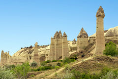 Mountain landscape, Goreme, Cappadocia, Turkey Stock Image