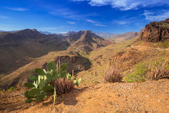 Mountain landscape of Gran Canaria island Stock Photo