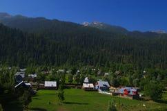 Vibrant landscape near Srinagar-3 Royalty Free Stock Photography
