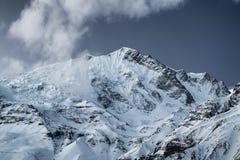 Mountain landscape. High mountains in Himalaya. Beautiful natural landscape Stock Photos