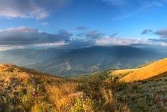Mountain landscape Stock Images
