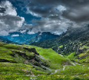 Mountain landscape in Himalayas Stock Images