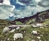 Mountain landscape in Himalayas Stock Photography