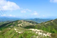 Mountain landscape in Hong Kong Stock Photos