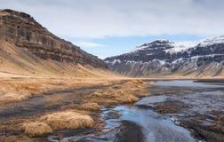 Mountain landscape Iceland Stock Photography
