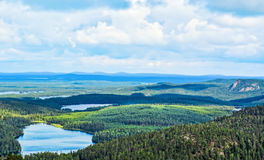 Mountain landscape II. Mountain view in  Lapland Finland Stock Images