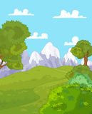 Mountain landscape Stock Image