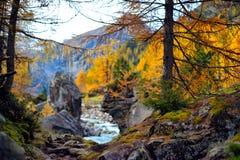 Mountain landscape - Innergschloss, Austria Royalty Free Stock Image