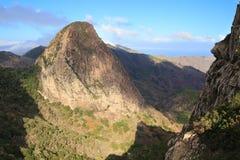 Mountain landscape of the island of La Gomera. Canary Islands. Spain. Mountain landscape of the island of La Gomera. Canary Islands royalty free stock photo