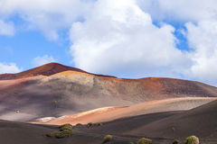 Mountain landscape on the island of Lanzarote Stock Images