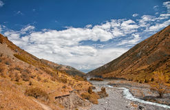 Mountain landscape. Issik-Ata Gorge Stock Photo